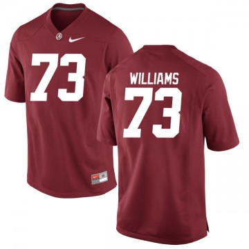 Men's Jonah Williams Alabama Crimson Tide Game Jersey - Crimson