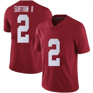 Men's Patrick Surtain II Alabama Crimson Tide Nike Limited Crimson Football College Jersey