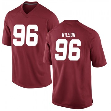 Men's Taylor Wilson Alabama Crimson Tide Nike Game Crimson Football College Jersey