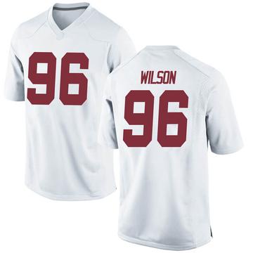 Men's Taylor Wilson Alabama Crimson Tide Nike Game White Football College Jersey