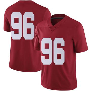 Men's Taylor Wilson Alabama Crimson Tide Nike Limited Crimson Football College Jersey