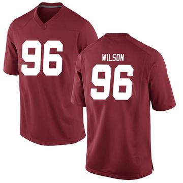 Men's Taylor Wilson Alabama Crimson Tide Nike Replica Crimson Football College Jersey