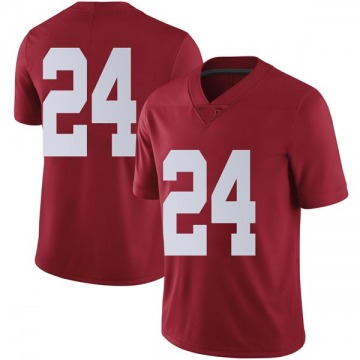Men's Terrell Lewis Alabama Crimson Tide Nike Limited Crimson Football College Jersey