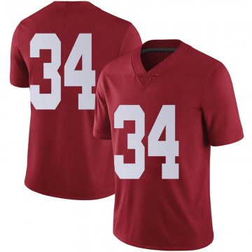Men's Tevin Mack Alabama Crimson Tide Nike Limited Crimson Football College Jersey