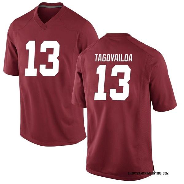 Men's Tua Tagovailoa Alabama Crimson Tide Nike Game Crimson Football College Jersey
