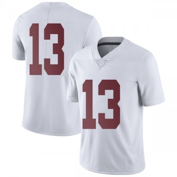 Men's Tua Tagovailoa Alabama Crimson Tide Nike Limited White Football College Jersey