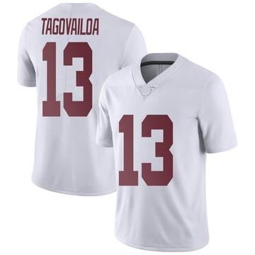 Men's Tua Tagovailoa Alabama Crimson Tide Nike Limited White Football College Jersey