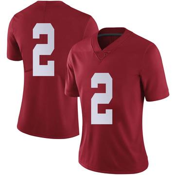Women's Patrick Surtain II Alabama Crimson Tide Nike Limited Crimson Football College Jersey