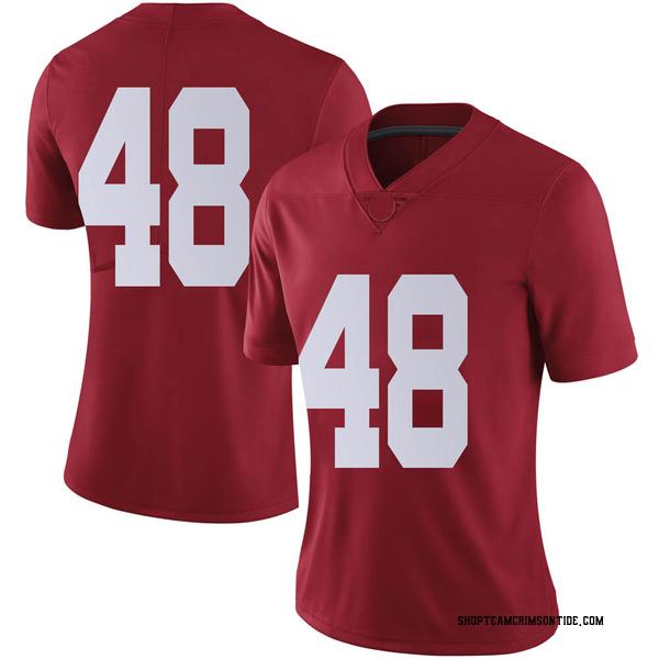 Women's Phidarian Mathis Alabama Crimson Tide Nike Limited Crimson Football College Jersey
