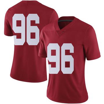 Women's Taylor Wilson Alabama Crimson Tide Nike Limited Crimson Football College Jersey