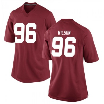 Women's Taylor Wilson Alabama Crimson Tide Nike Replica Crimson Football College Jersey