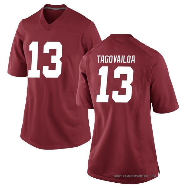 Women's Tua Tagovailoa Alabama Crimson Tide Nike Game Crimson Football College Jersey