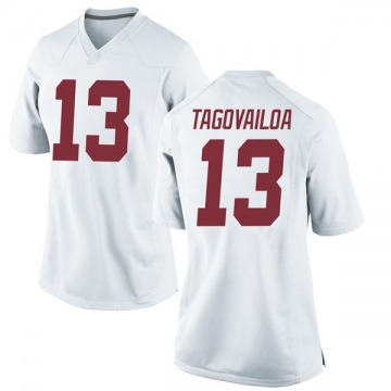 Women's Tua Tagovailoa Alabama Crimson Tide Nike Game White Football College Jersey