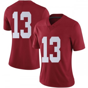 Women's Tua Tagovailoa Alabama Crimson Tide Nike Limited Crimson Football College Jersey
