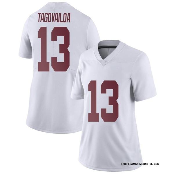 Women's Tua Tagovailoa Alabama Crimson Tide Nike Limited White Football College Jersey