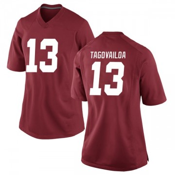 Women's Tua Tagovailoa Alabama Crimson Tide Nike Replica Crimson Football College Jersey