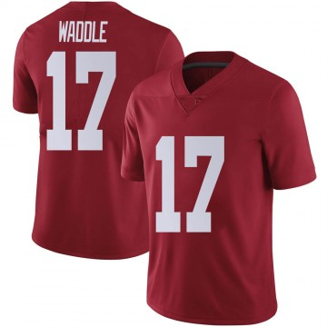 Youth Jaylen Waddle Alabama Crimson Tide Nike Limited Crimson Football College Jersey