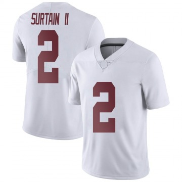Youth Patrick Surtain II Alabama Crimson Tide Nike Limited White Football College Jersey